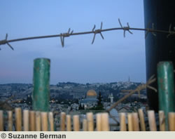 Barbed Wire in Jerusalem